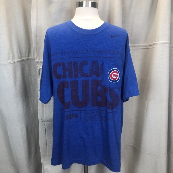 meet 1be0c 2850c Nike Chicago Cubs Baseball Tee Size XL